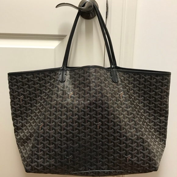 detailed images best prices reliable quality Goyard Bags | Authentic Black On Black Gm St Louis Tote | Poshmark